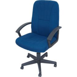 LincolnMANAGERS CHAIR ROYAL BLUE FABRIC
