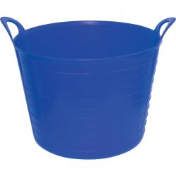 SitesafeFLEXI TUB 26LTR BUILDERS BUCKET BLUE